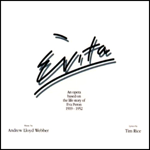 Evita original cast album