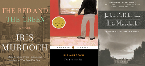3 books by Iris Murdoch