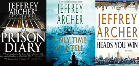3 Jefferey Archer book covers