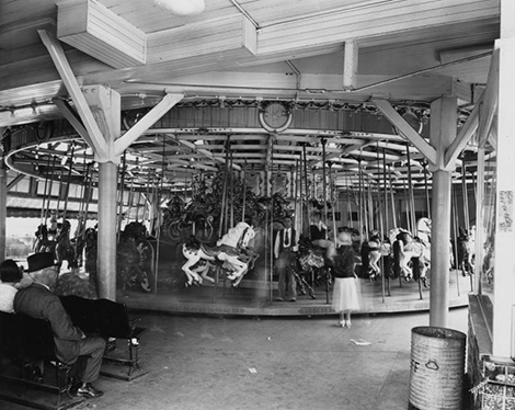 Carousel at the Pike, 1930s