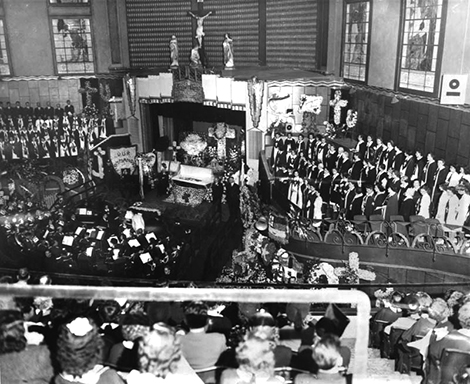 Aimee Semple McPherson funeral