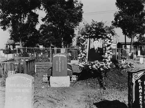 cemetery serving the Chinese community