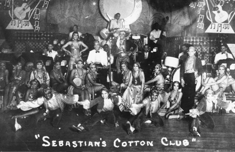 Sebastian's Cotton Club, located in Culver City 1931