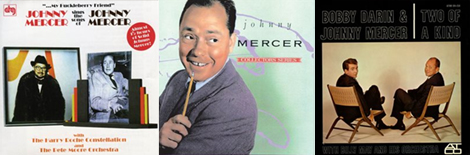 3 album covers by Johnny Mercer