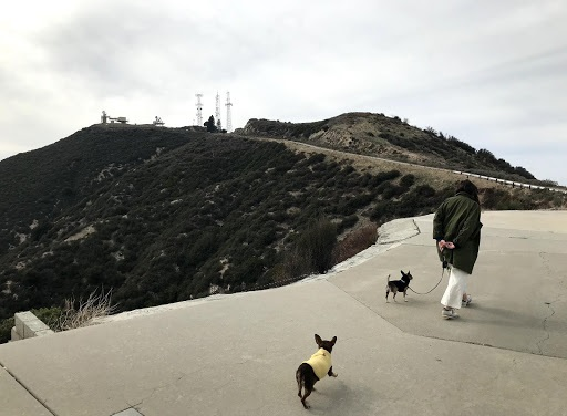 Walking up to the LA-94 Nike Missile Site in the San Gabriel Mountains near Newhall