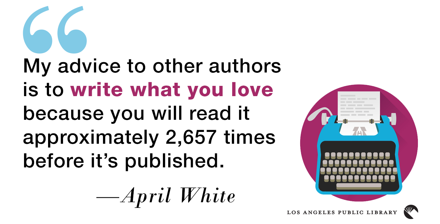 Quote by author April White