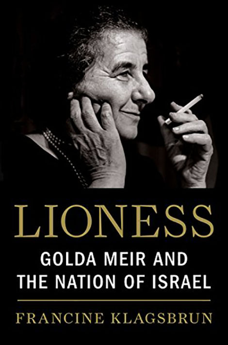 book cover of Lioness: Golda Meir and the Nation of Israel