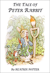 book cover for peter rabbit