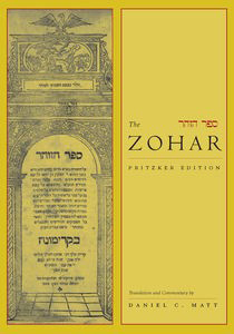 Book cover of the Zohar text