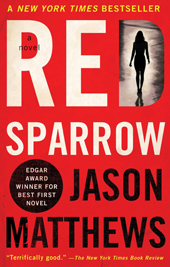 book cover for Red Sparrow