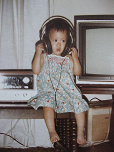 Thuy Lam Childhood Photo