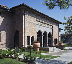exterior view of the pico union branch library