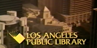 screenshot from youtube video shows an aerial view of central library