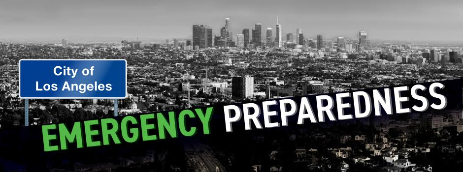 City of Los Angeles and text that reads Emergency Preparedness