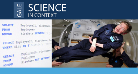 gale science in context banner