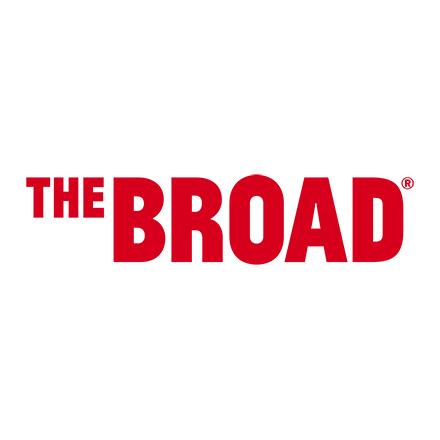 Logo for the Broad Museum