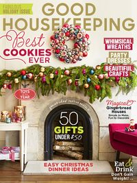 Good Housekeeping Magazine Cover for December 2014