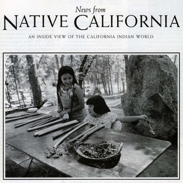 "Cover of ""News from Native California"""