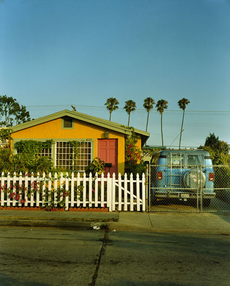 Yellow house in Venice Beach