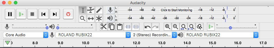 screenshot showing quality preferences on Audacity