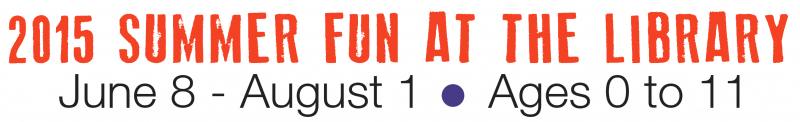 Read to the Rhythm, 2015 Summer Fun at the Library for Kids