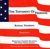 Thompson: The Testament of Freedom/Frostiana