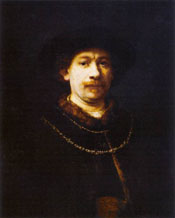 Rembrandt: Self Portrait