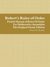 Henry M. Robert: Robert's Rules of Order