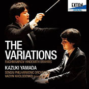 Rachmaninoff/Hindemith/Brahms: Variations for piano and orchestra