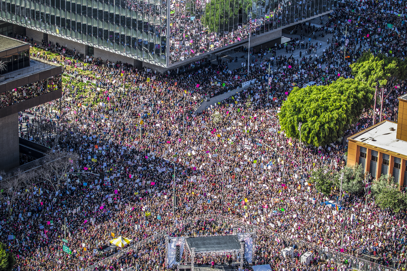 Women's March Los Angeles, 2017, Wikimedia Commons