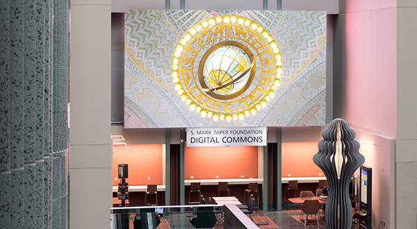 Digital commons and video wall