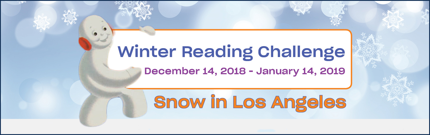 Winter Reading Challenge: Snow in LA