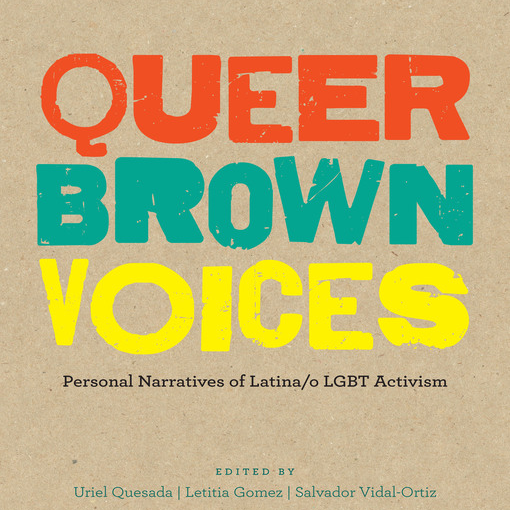 Cover of book Queer Brown Voices