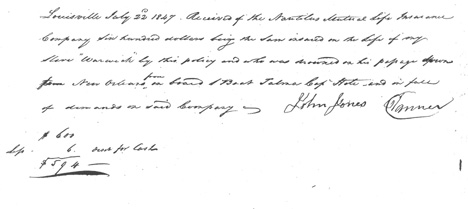 John Jones account of Warwick drowning.