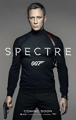 A man in a black turtleneck and a gun holster faces the camera. Movie poster.