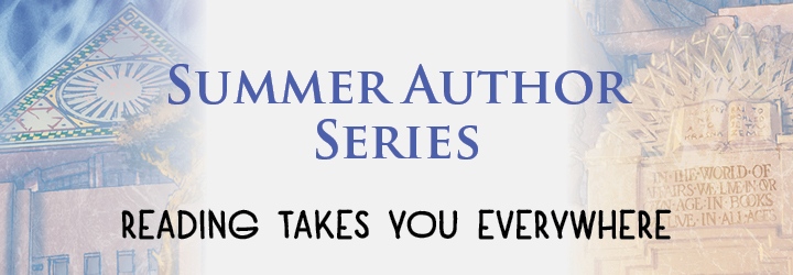summer author series banner
