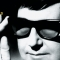 Roy Orbison in his trademark sunglasses