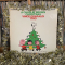 A Charlie Brown Christmas album cover with tinsel decoration