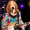 Bonnie Raitt, a blues and rock singer