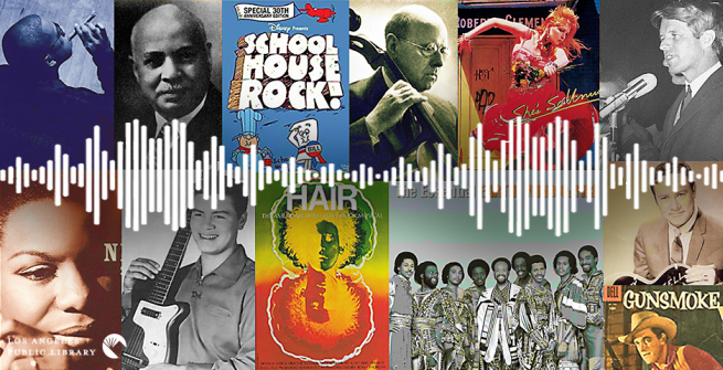 Collage of a some selected National Recording Registry 2019