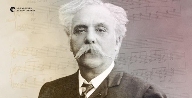 Portrait of composer Gabriel Fauré in 1905