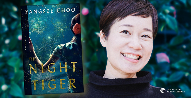 Author Yangsze Choo and her latest novel, The Night Tiger