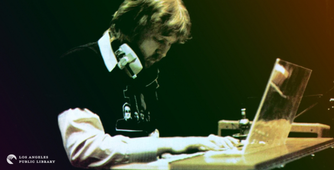 Harry Nilsson at RCA Records, July 1974