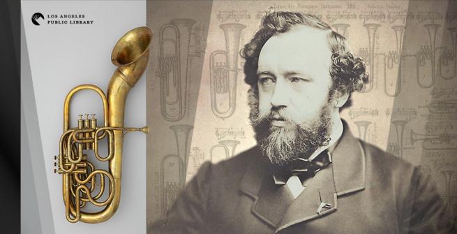 Saxophone inventor, Adolphe Sax