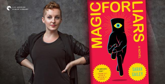 Author Sarah Gailey and her novel, Magic For Liars