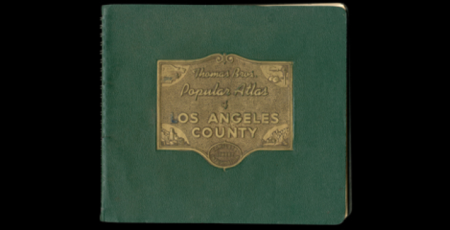 Cover of 1946 Thomas Street Guide