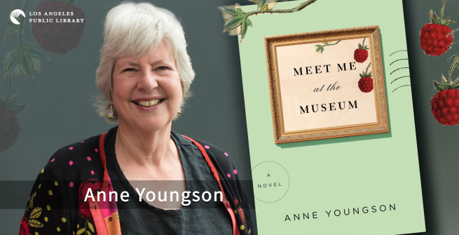 Author Anne Youngson and her debut novel, Meet Me at the Museum