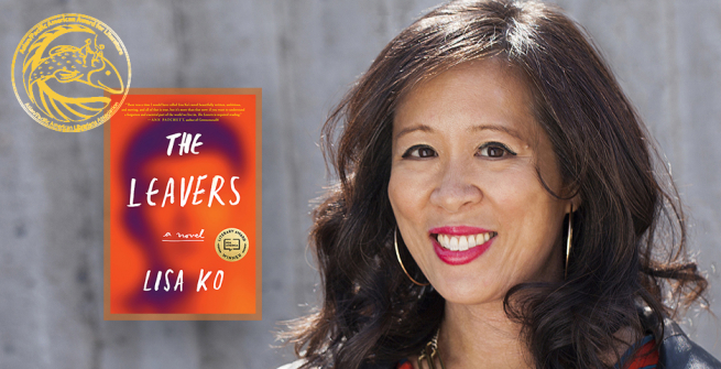 Author Lisa Ko and her award winning book the Leavers