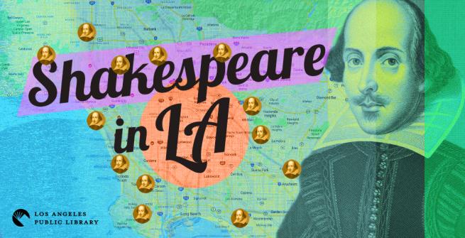 Shakespeare in LA graphic