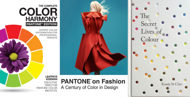 Book covers of recommended Pantone and color related books